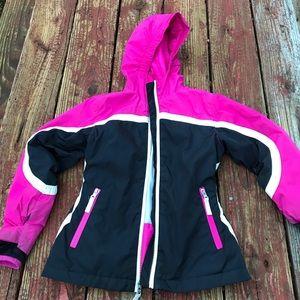 Lands end lightweight winter coat. Size 5-6.